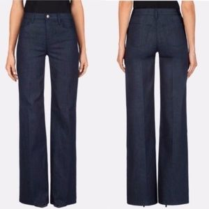 J Brand Eva Flare Jeans in Dark Fate Wash